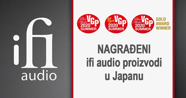 Nagrađeni iFi proizvodi u Japanu