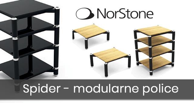 NorStone Spider – modularne police za audio sustave