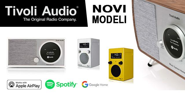 Tivoli Audio – novi modernizirani modeli