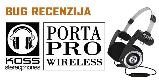 Koss Porta Pro Wireless – Legenda u bežičnoj izvedbi
