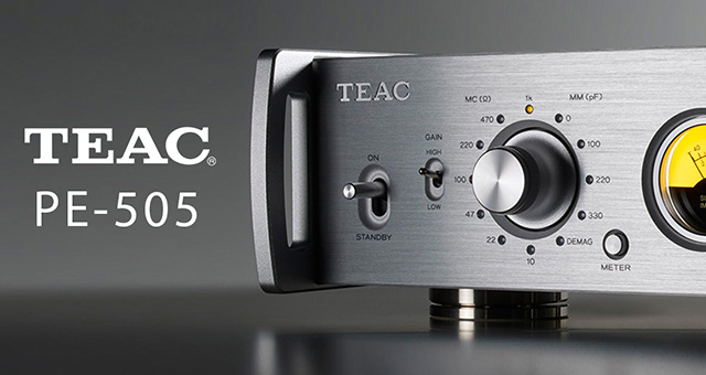 Teac PE-505 dual mono fono pretpojačalo