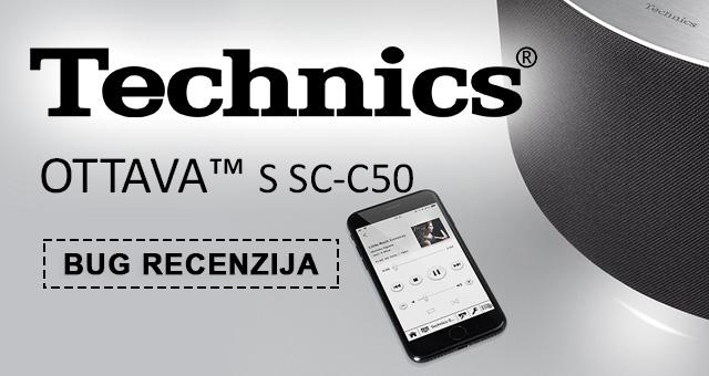 Zvuk za pamćenje, aplikacija za zaborav – Technics Ottava S SC-C50