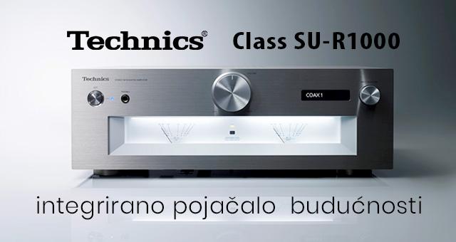Technics Class SU-R1000 – integrirano pojačalo budućnosti