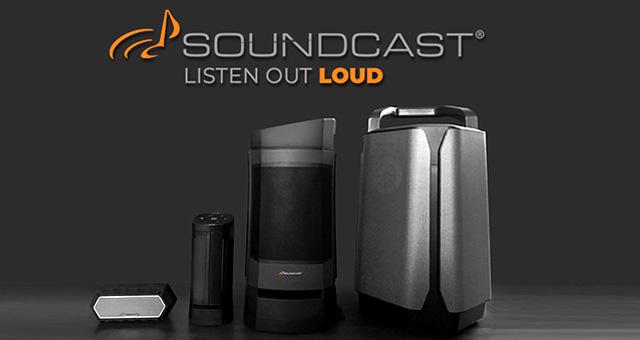 Soundcast bežični aktivni vanjski vodootporni zvučnici