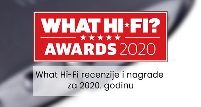 What Hi-Fi recenzije i nagrade za 2020. godinu