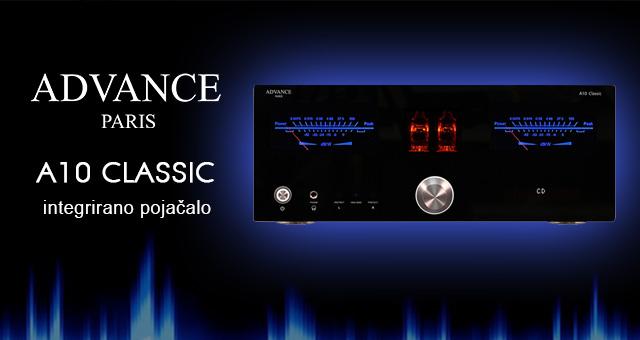 Advance Paris A10 Classic – idealna kombinacija cijevi i tranzistora