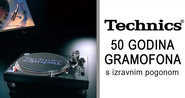 """Okrugla obljetnica – 50 godina gramofona s izravnim pogonom Technics, prvi i jedini """"glazbeni instrument"""""""