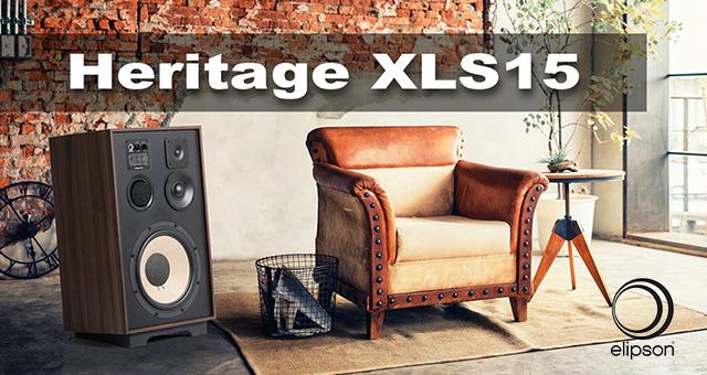 Elipson  Heritage XLS15 zvučničke kutije –  novo kao staro