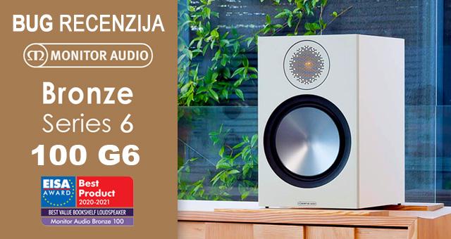 Monitor Audio Bronze 100 G6 – Promjene na svim poljima