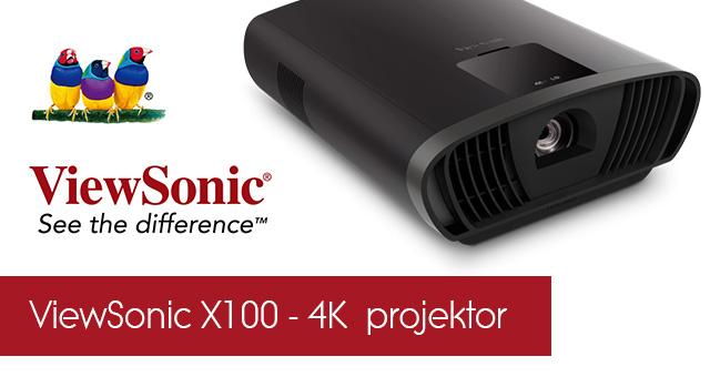 ViewSonic X100 – 4K  projektor