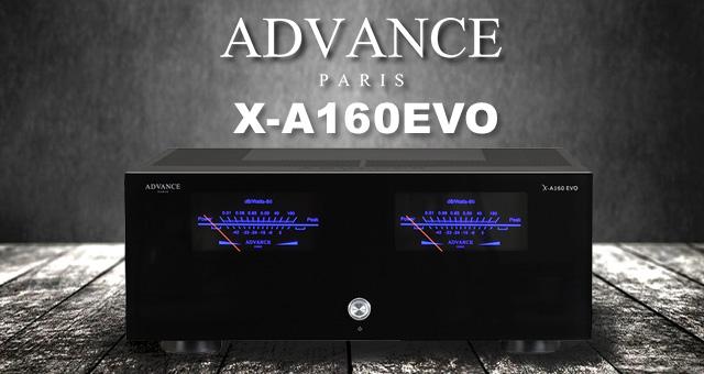 Advance Paris X-A160EVO – rijetko stereo pojačalo snage u AB klasi