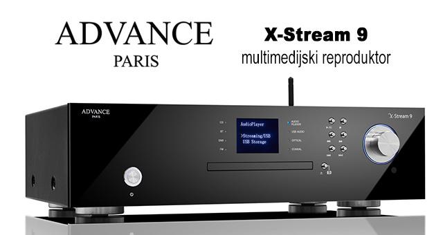 Advance Paris X-Stream 9 – multimedijski reproduktor