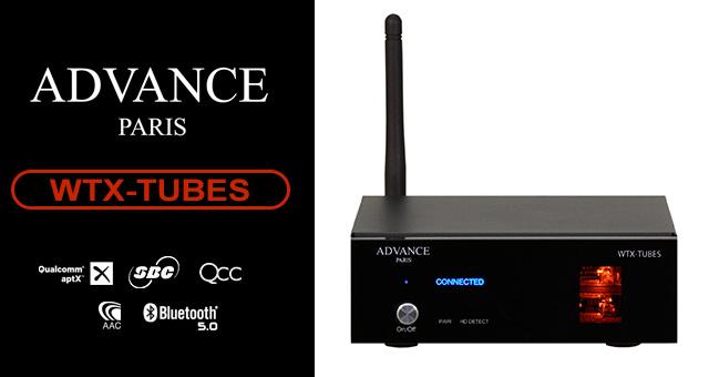Advance Paris WTX-TUBES – cijevni HD Bluetooth primopredajnik