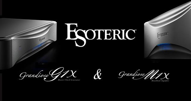 Esoteric Grandioso G1X(najtočniji master-sat) i M1X mono pojačalo snage