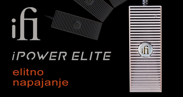 iFi Audio iPower Elite – elitno napajanje