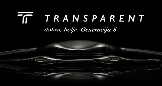 Transparent Generation 6 kabeli – dobro, bolje, Generacija 6