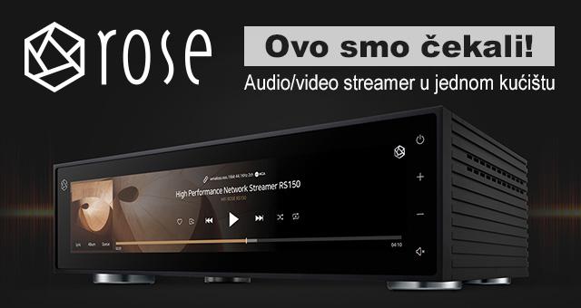 Hi-Fi ROSE – Ovo smo čekali! – Audio/video streamer u jednom kućištu