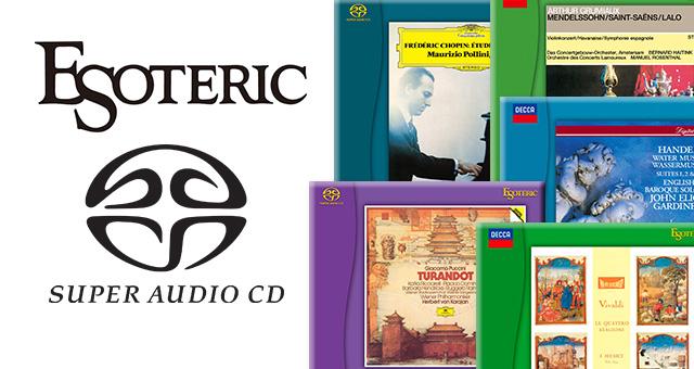 Esoteric – novi SACD diskovi