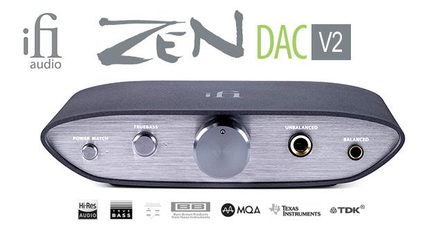 iFi Audio ZEN DAC V2 – USB DAC/pojačalo za slušalice sa MQA i DSD 256