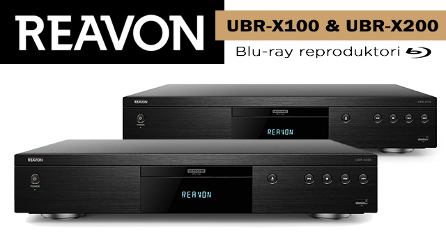 Reavon UBR-X100 i UBR-X200 4K Blu-ray reproduktori