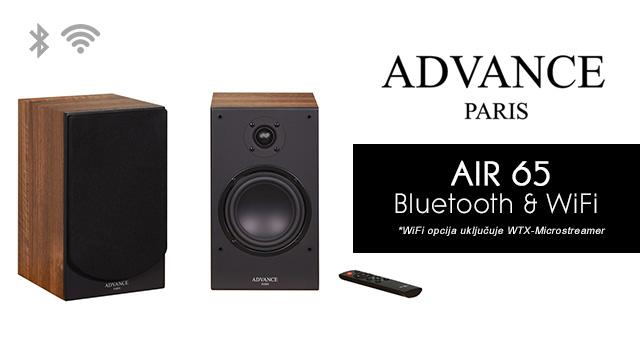 Advance Paris AIR 65 Bluetooth / AIR 65 Bluetooth & WiFi – bežični zvučnici za policu/stalke