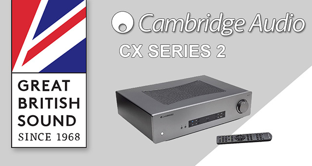 Cambridge Audio CX series 2: zvuk napretka
