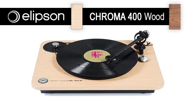 Elipson Chroma 400 – novi, ljepši i bolji gramofoni