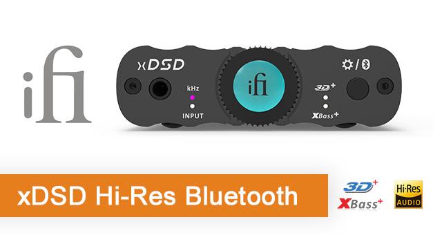 iFi xDSD Hi-Res Bluetooth prijenosni USB DAC