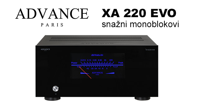 Advance Paris XA 220 EVO – snažni monoblokovi