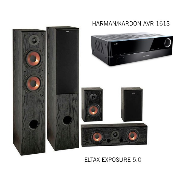 Harman/Kardon AVR 161S + Eltax Exposure Set 5.0