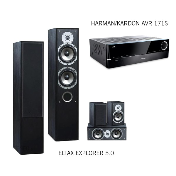 Harman/Kardon AVR 171S + Eltax Explorer Set 5.0