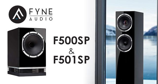Fyne Audio F500SP + F501SP – tijelo obično, srce sportsko