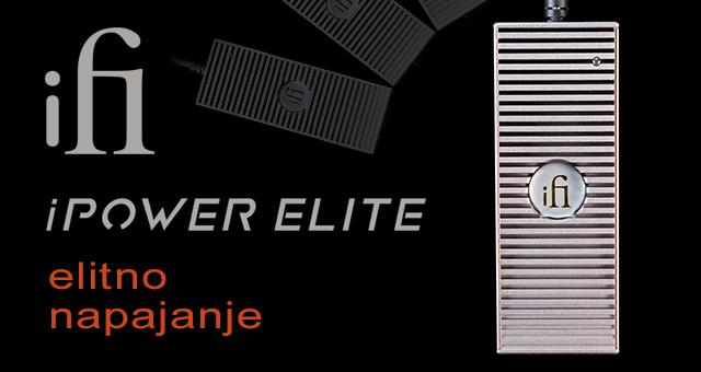iFi Audio iPower Elite – elitno napajanje