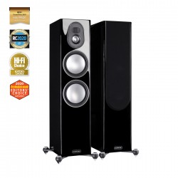 Monitor Audio Gold 300 samostojeći zvučnici - Ebony (ex demo)