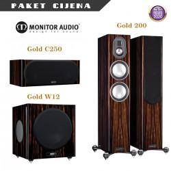 Monitor Audio Gold paket - Gold 200 / C250 / Gold W12