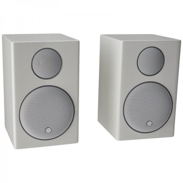 Radius 90 Mini Monitor Speakers- Pair (White)