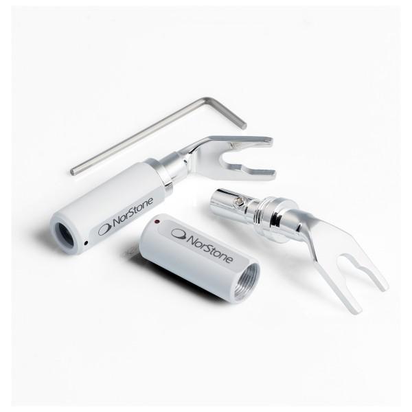 Norstone JURA Spade Connectors