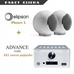 Advance Paris AX1 + Elipson Planet L