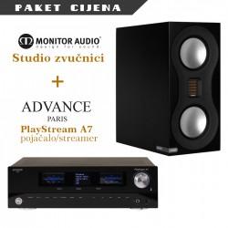 Advance Paris PlayStreamA7 + Monitor Audio Studio