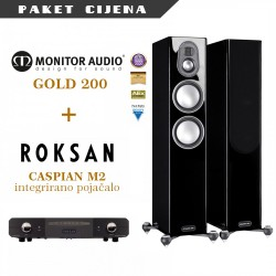 Roksan Caspian M2 + Monitor Audio Gold 200