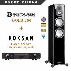 Roksan Caspian M2 + Monitor Audio Gold 200