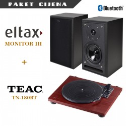 Eltax Monitor III + Teac TN 180 BT