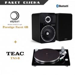 Elipson Prestige Facet 6BT + Teac TN3-B gramofon