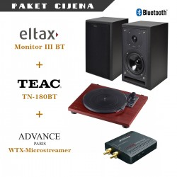 Eltax Monitor III BT + Teac TN 180BT + Avance Paris WTX-Microstreamer