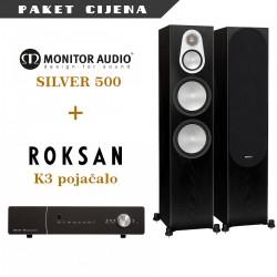 Roksan K3 pojačalo + Monitor Audio Silver 500