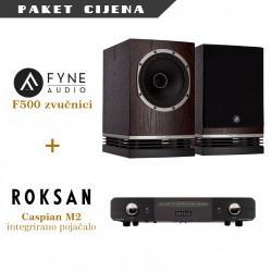 Roksan Caspian M2 + Fyne Audio 500