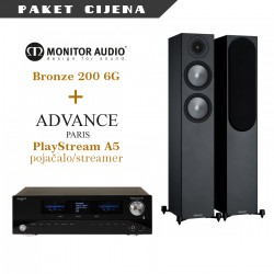 Advance Paris PlayStream A5 + Monitor Audio Bronze 200 G6