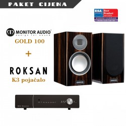 Roksan K3 pojačalo + Monitor Audio Gold 100