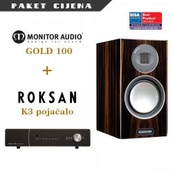 Roksan K3 pojačalo + Monitor Audio Gold 100