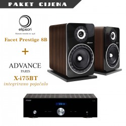 Advance Paris X-i 75 + Elipson Facet Prestige 8B